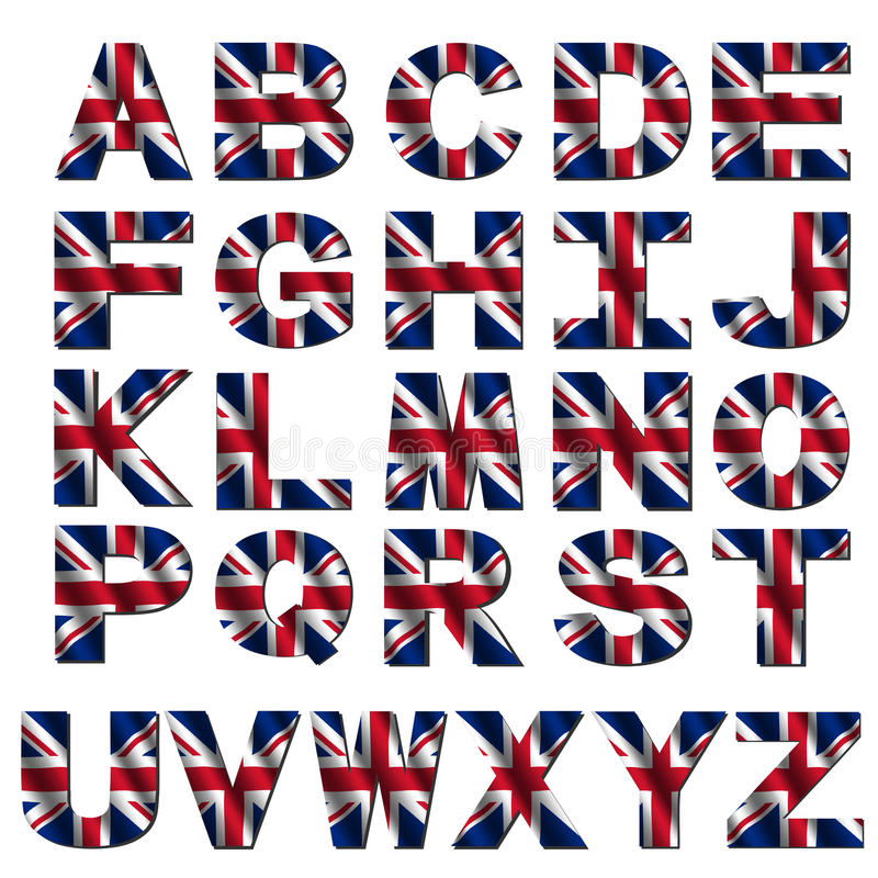 Download Pia Batismal Britânica Da Bandeira Ilustração Stock - Ilustração de britain, patriotic: 10056286