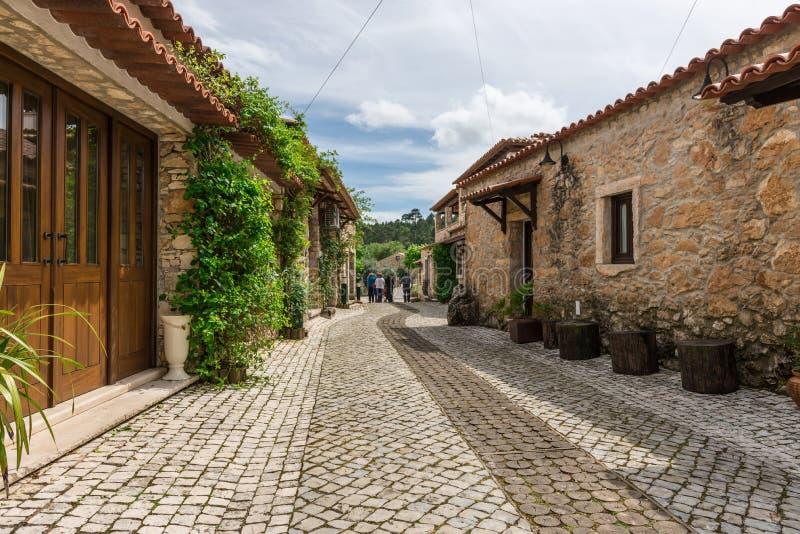 Pia robi Urso wiosce, Fatima, Portugalia zdjęcie royalty free
