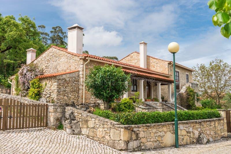 Pia robi Urso wiosce, Fatima, Portugalia zdjęcia royalty free