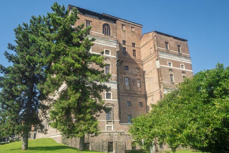 Piacenza: the historic building known as Palazzo Farnese. Piacenza, Emilia Romagna, Italy: exterior of the historic building known as Palazzo Farnese stock photos