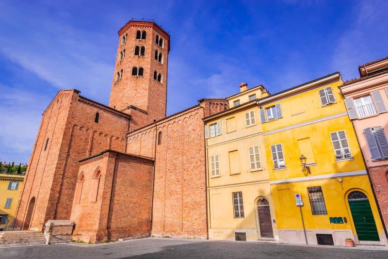Piacenza, Italia immagine stock libera da diritti