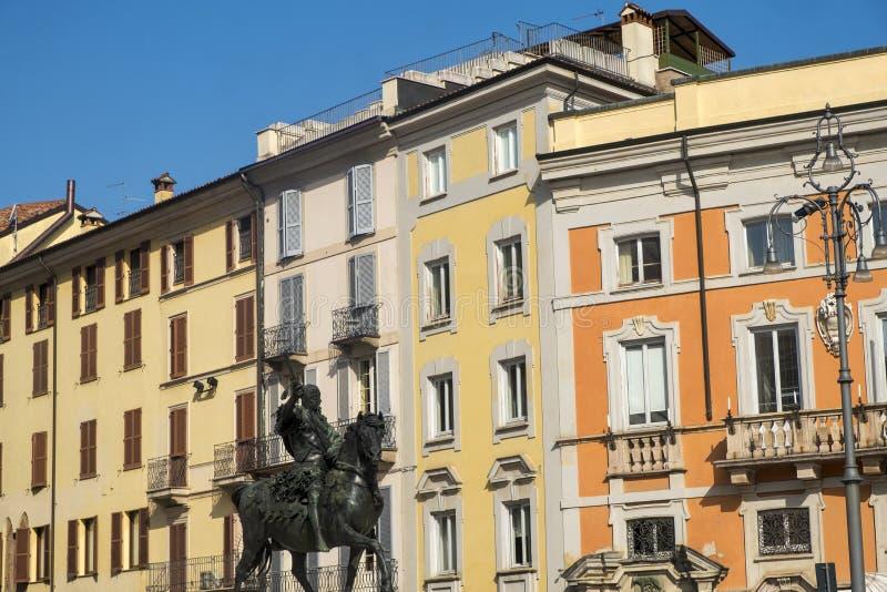 Download Piacenza: Piazza Cavalli, Hoofdvierkant Van De Stad Stock Foto - Afbeelding bestaande uit architectuur, building: 114225008