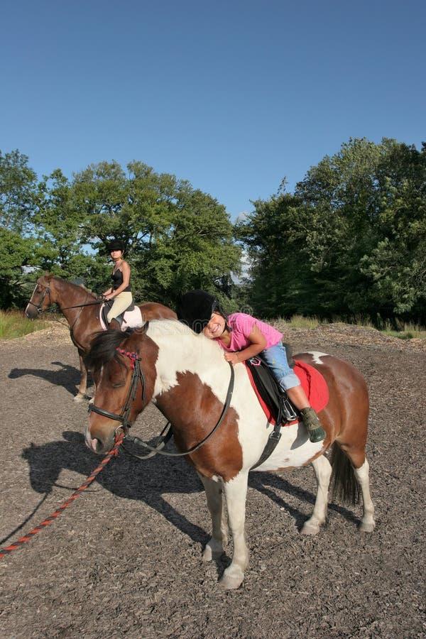 Piacere di equitazione fotografie stock