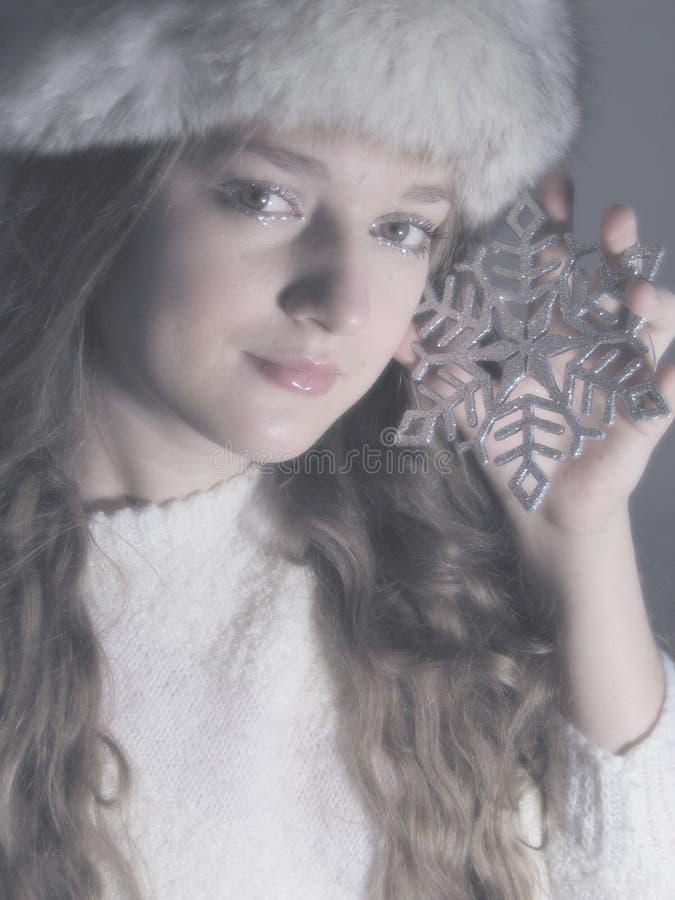 Piacere di inverno fotografia stock