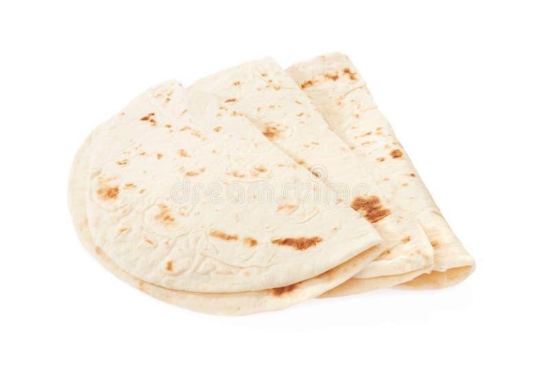 Piadina, группа tortilla стоковое фото