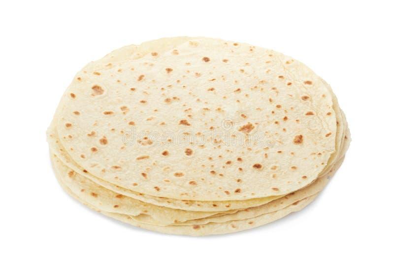 Piadina, итальянская куча tortilla стоковые изображения rf
