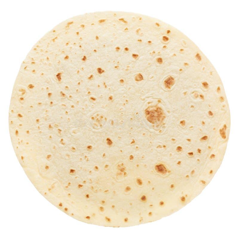 Piadina, tortilla italienne ronde photos libres de droits