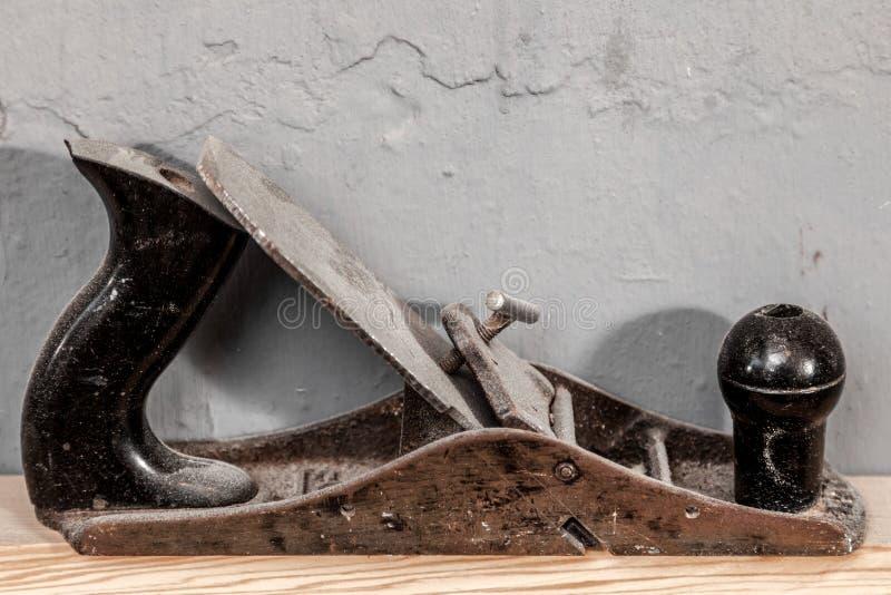 Piallatrice del metallo del nero del primo piano fotografie stock