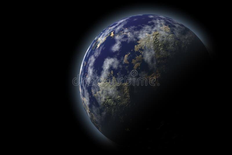 Pianeta della terra illustrazione vettoriale
