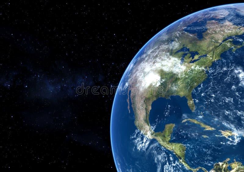 Pianeta della terra illustrazione di stock