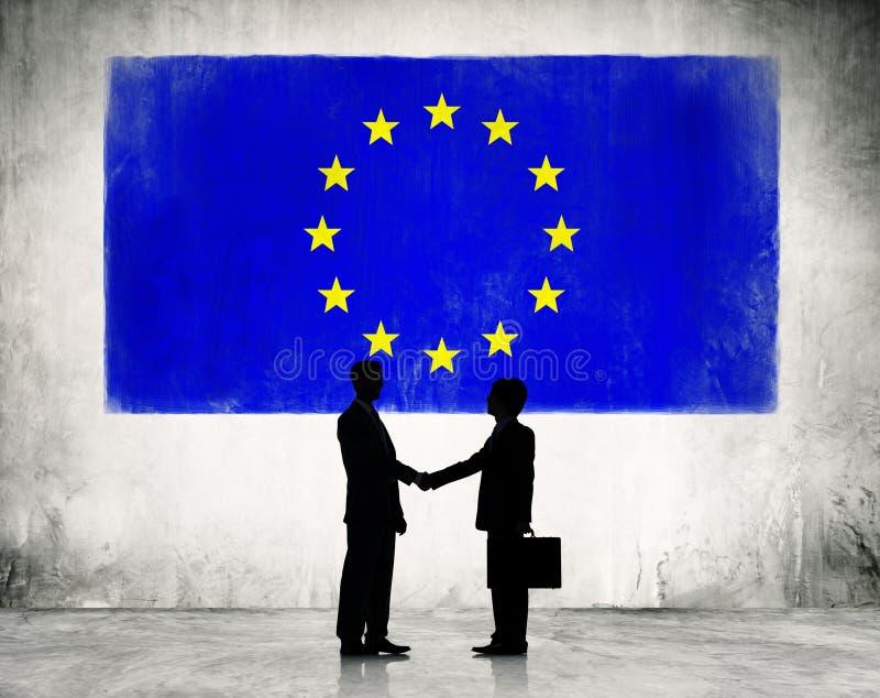 Pianificazione strategica di affari nell'Unione Europea immagine stock libera da diritti