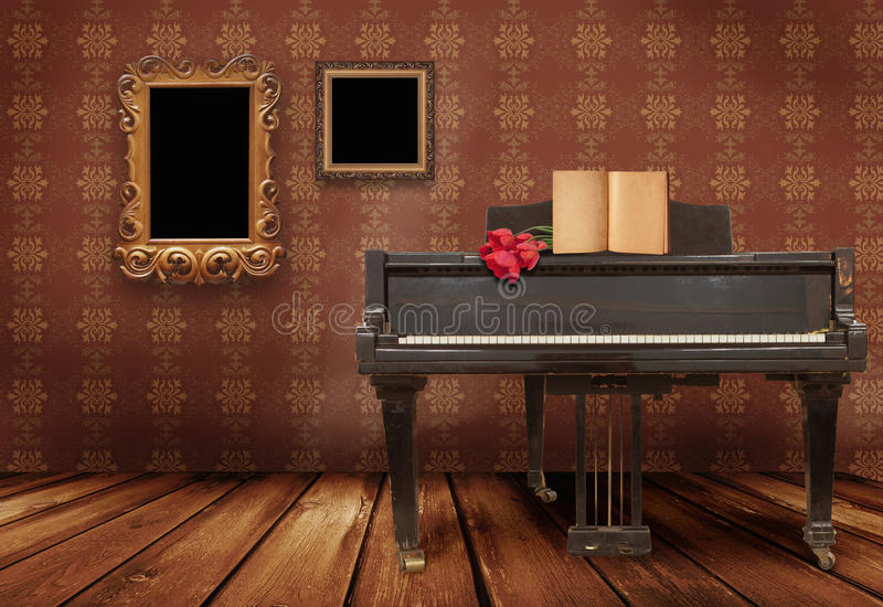 pianino obraz royalty free