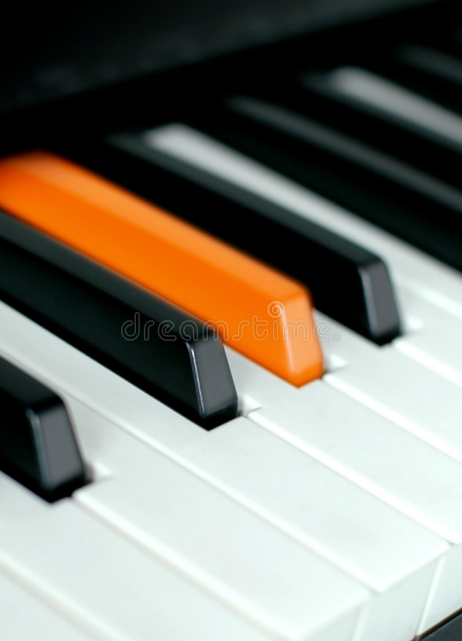 pianino fotografia stock