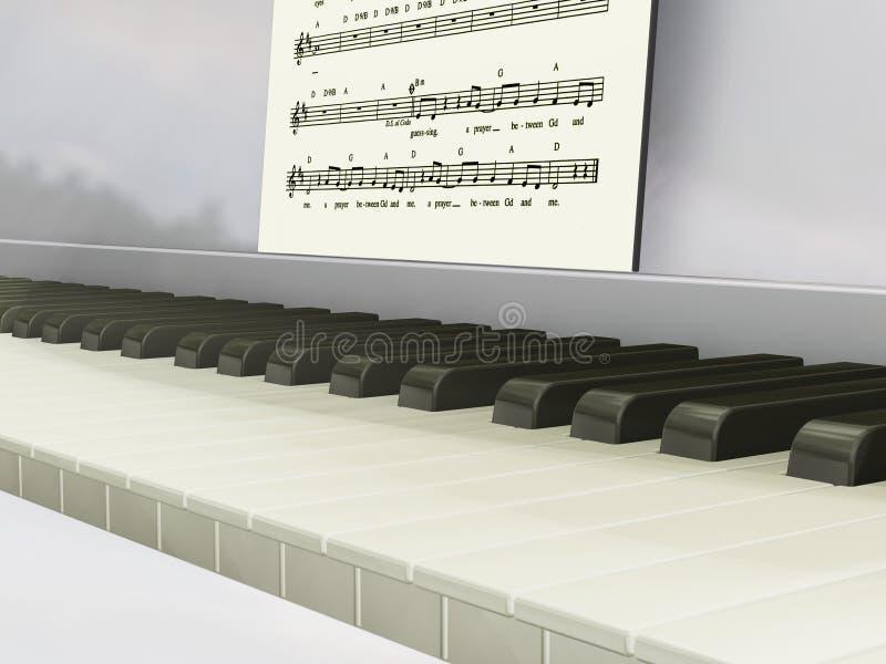 pianino muzyki. ilustracja wektor