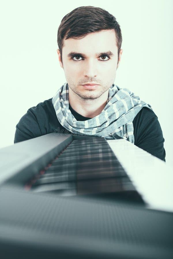 pianist imagem de stock