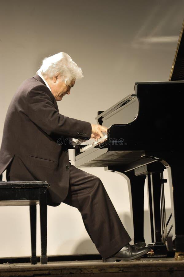 pianist imagens de stock