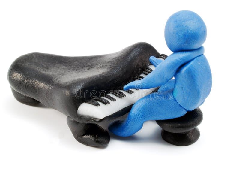 pianist fotografia de stock