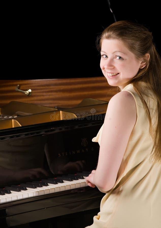 Pianist lizenzfreies stockfoto