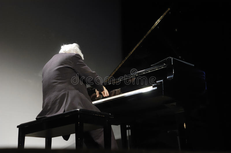 Pianist stock images