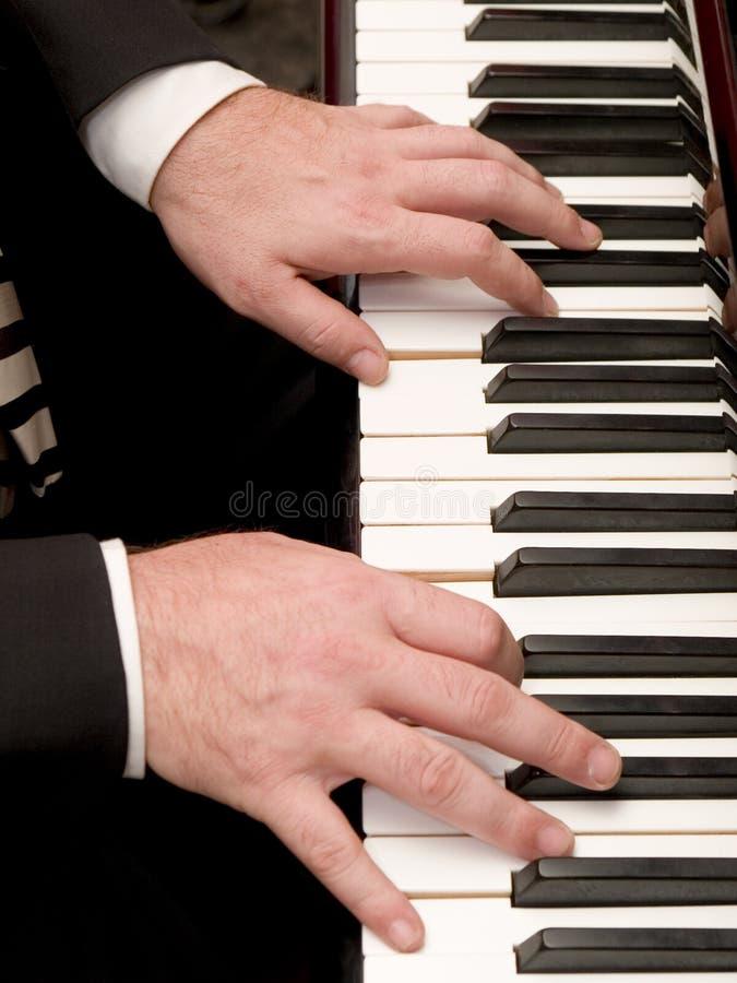 Pianista fotografía de archivo