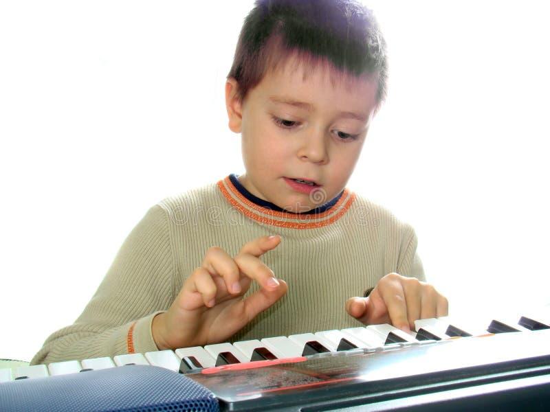 Download Pianista immagine stock. Immagine di imparare, gioco, umano - 3880245