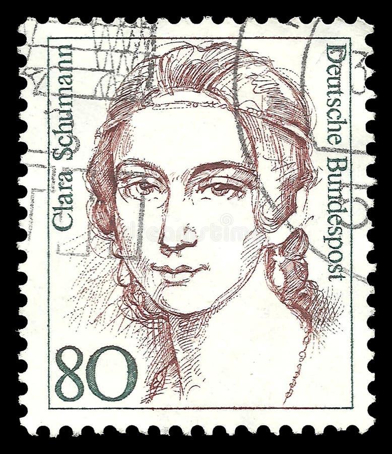 Pianiste Clara Schumann images stock