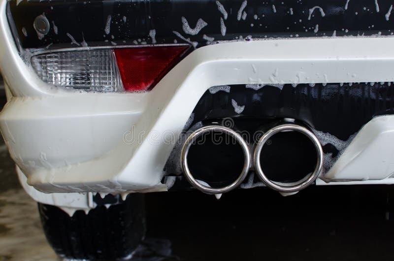 Piankowy samochodowy obmycie zdjęcia stock