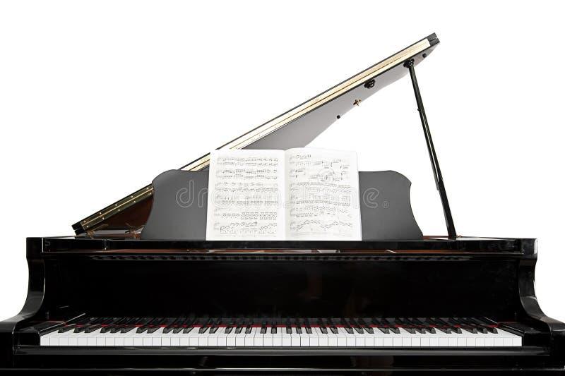 Piano à queue de chéri images stock