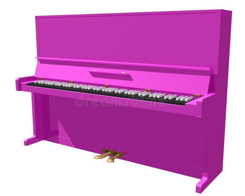 piano vektor illustrationer