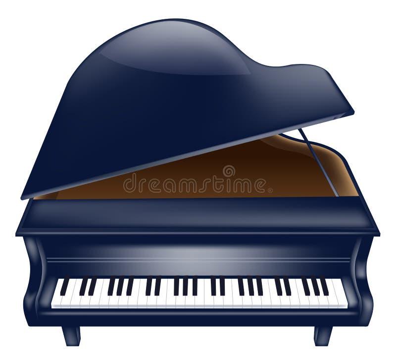 Piano illustration de vecteur