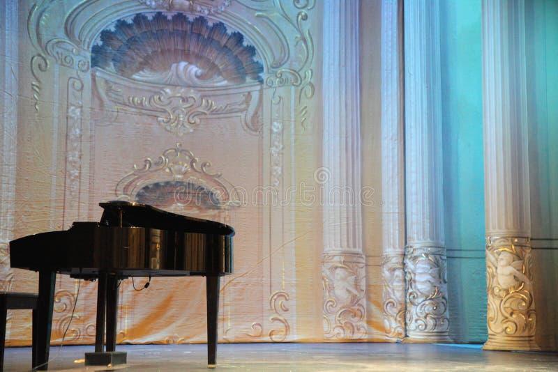 piano royaltyfria bilder