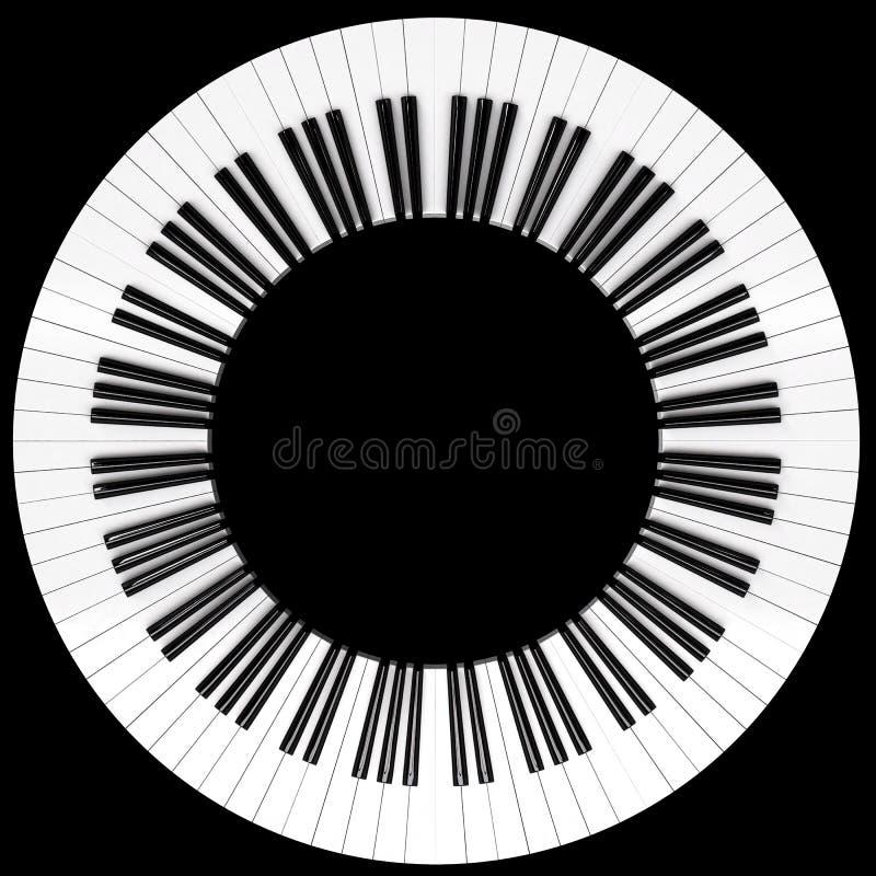 Piano stock illustration