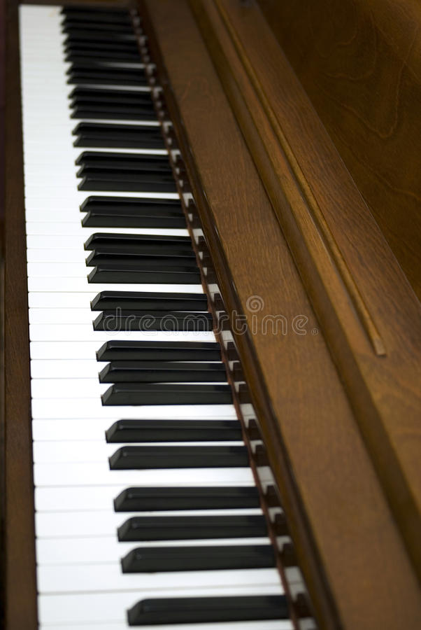 Piano fotografie stock