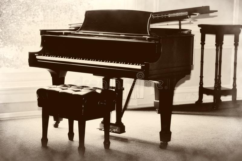 Download Piano stock image. Image of harmony, close, angled, concept - 16908987
