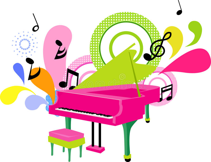 Download Piano stock vector. Image of artistic, music, musical - 18540602