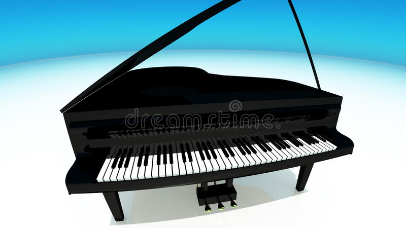 Piano vector illustratie