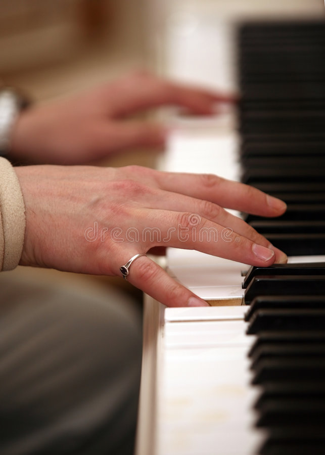 Download Piano stock photo. Image of musical, octave, black, inside - 2310774