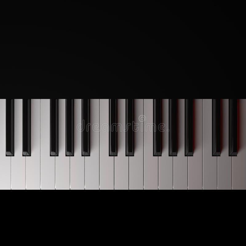 Piano illustration stock