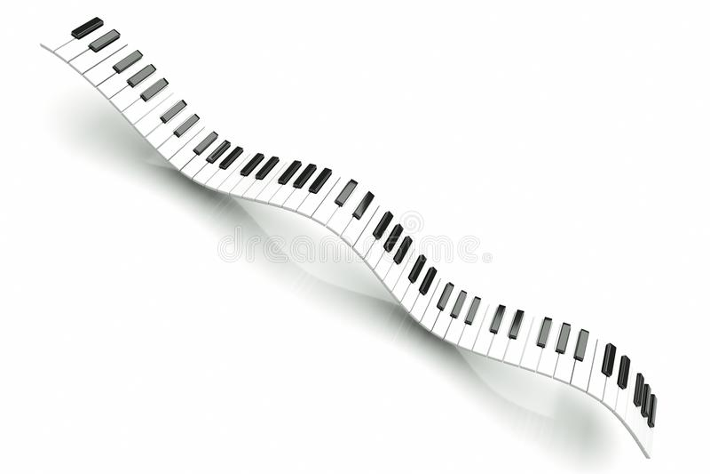 Piano royalty free illustration
