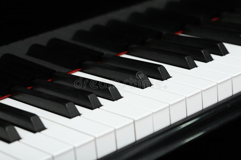 Download Piano stock image. Image of isolated, keyboard, black - 26059333
