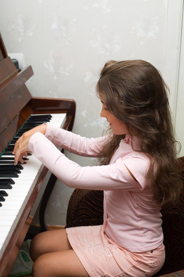 piano royaltyfri bild