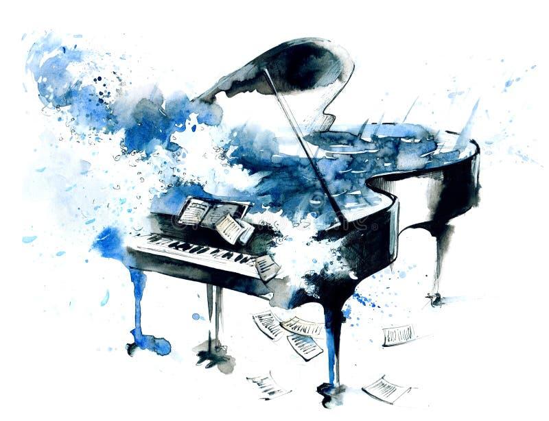 Piano stock illustratie