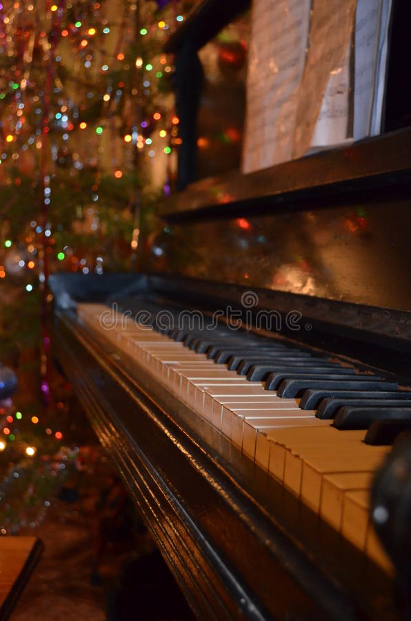 Piano photographie stock