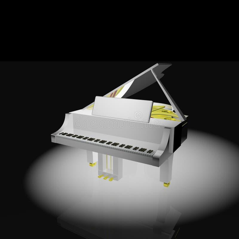 Piano stock de ilustración