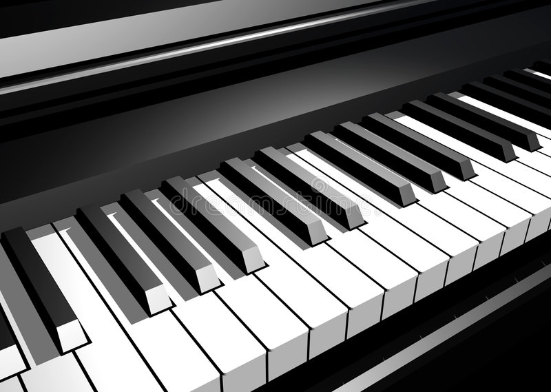 Download Piano Stock Photo - Image: 641980