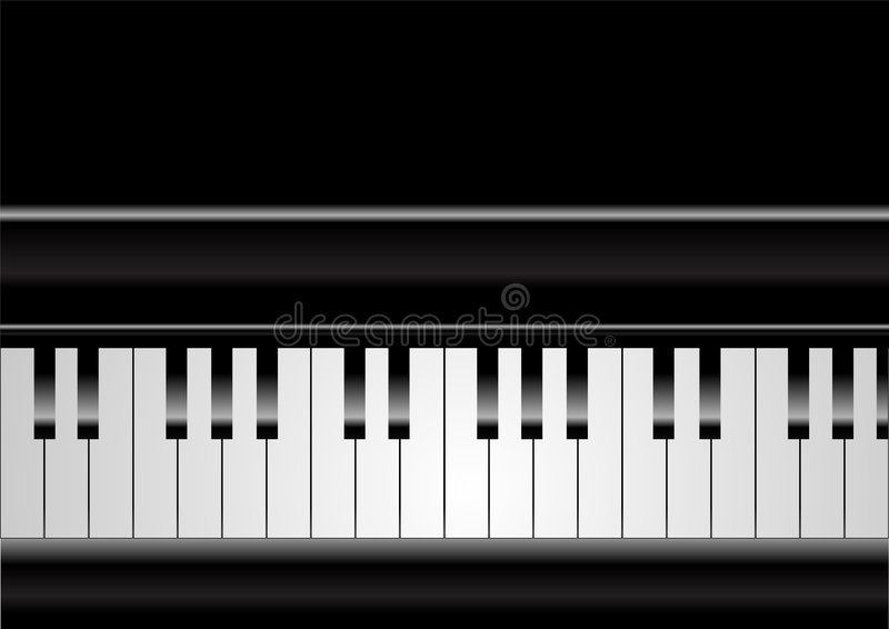 Piano royalty-vrije illustratie