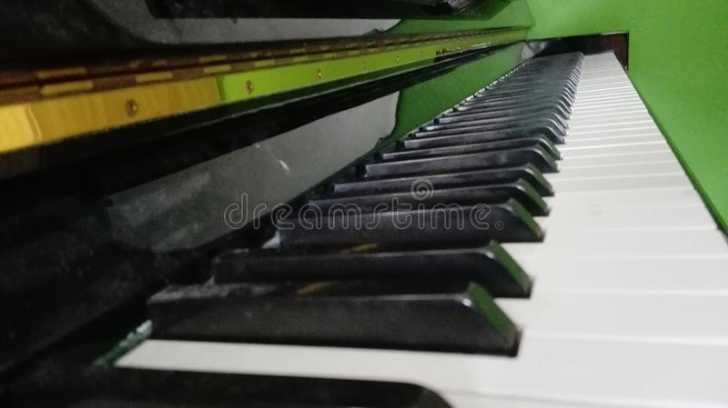 Piano royalty-vrije stock fotografie