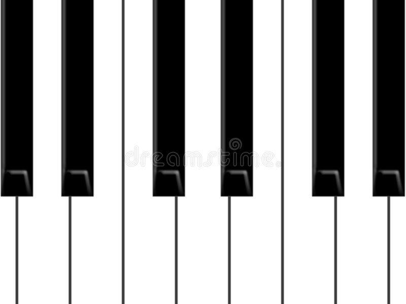 Download Piano stock illustration. Image of harpsichord, line, music - 7634467