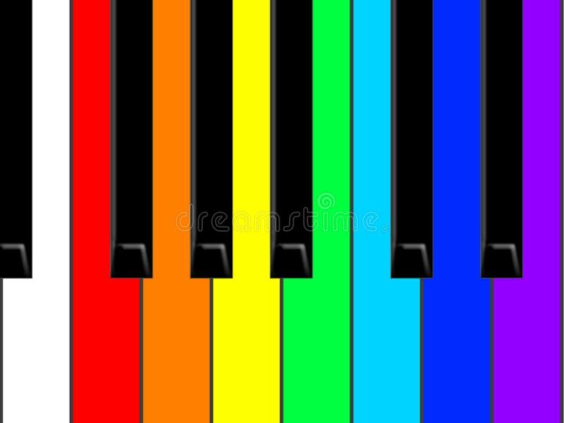 Piano ilustração royalty free