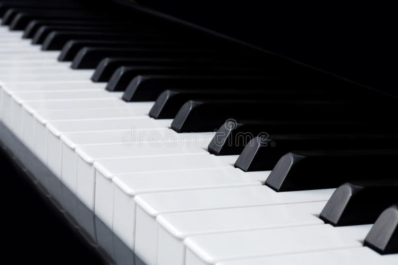 Download Piano stock image. Image of piano, black, play, macro - 9510065